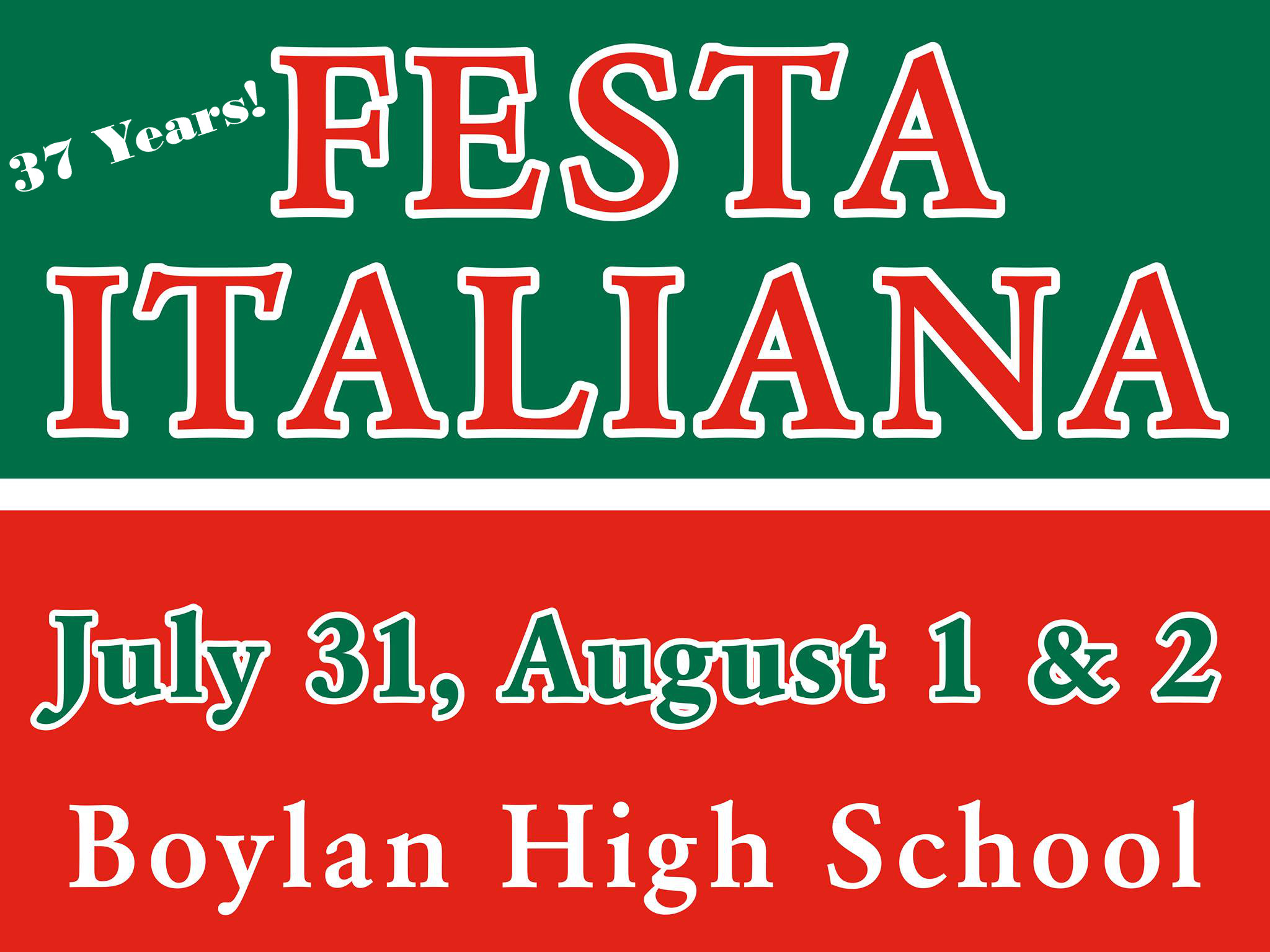 Sticky Post:  37TH ANNUAL FESTA ITALIANA 2015!