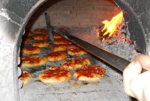 Pizza Oven in Aragona, Sicilly